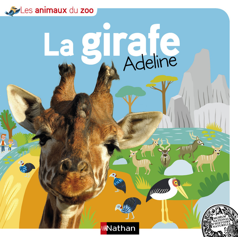 la girafe Adeline Lesenfantsalapage