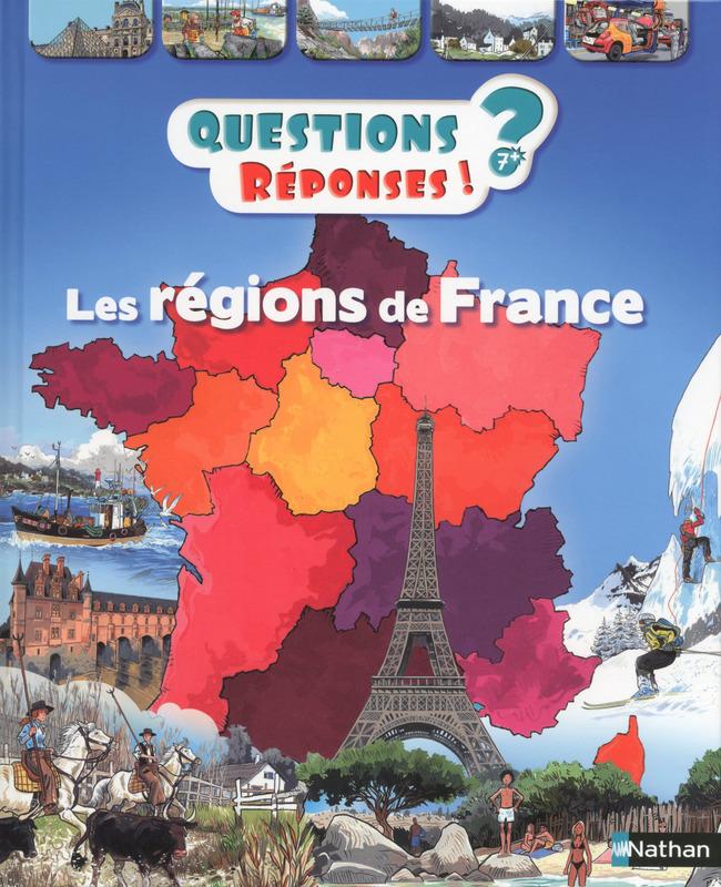 régions de France Lesenfantsalapage