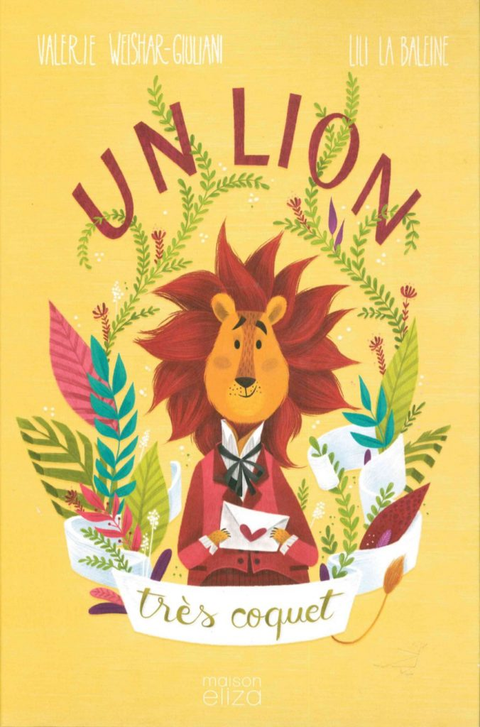 un-lion-tres-coquet-lesenfantsalapage