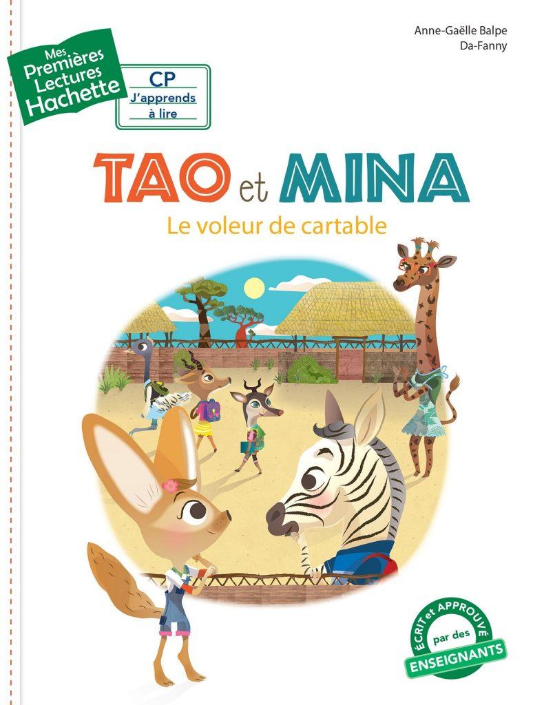 Tao et Mina Le voleur de cartable Lesenfantsalapage