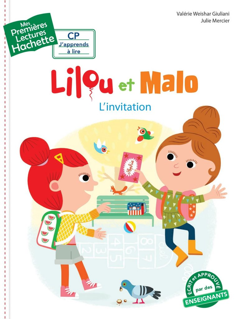 lilou et malo L'invitation Lesenfantsalapage