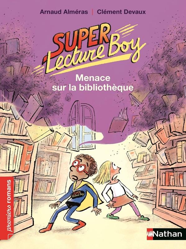 Super lecture Boy - Menace sur la bibliothèque Lesenfantsalapage