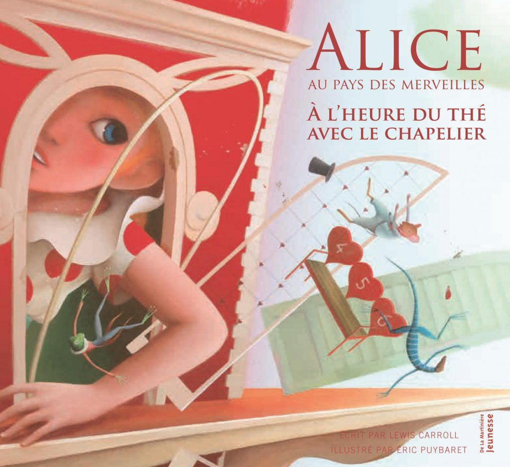 Alice au pays des merveilles - A l'heure du thé avec le chapelier