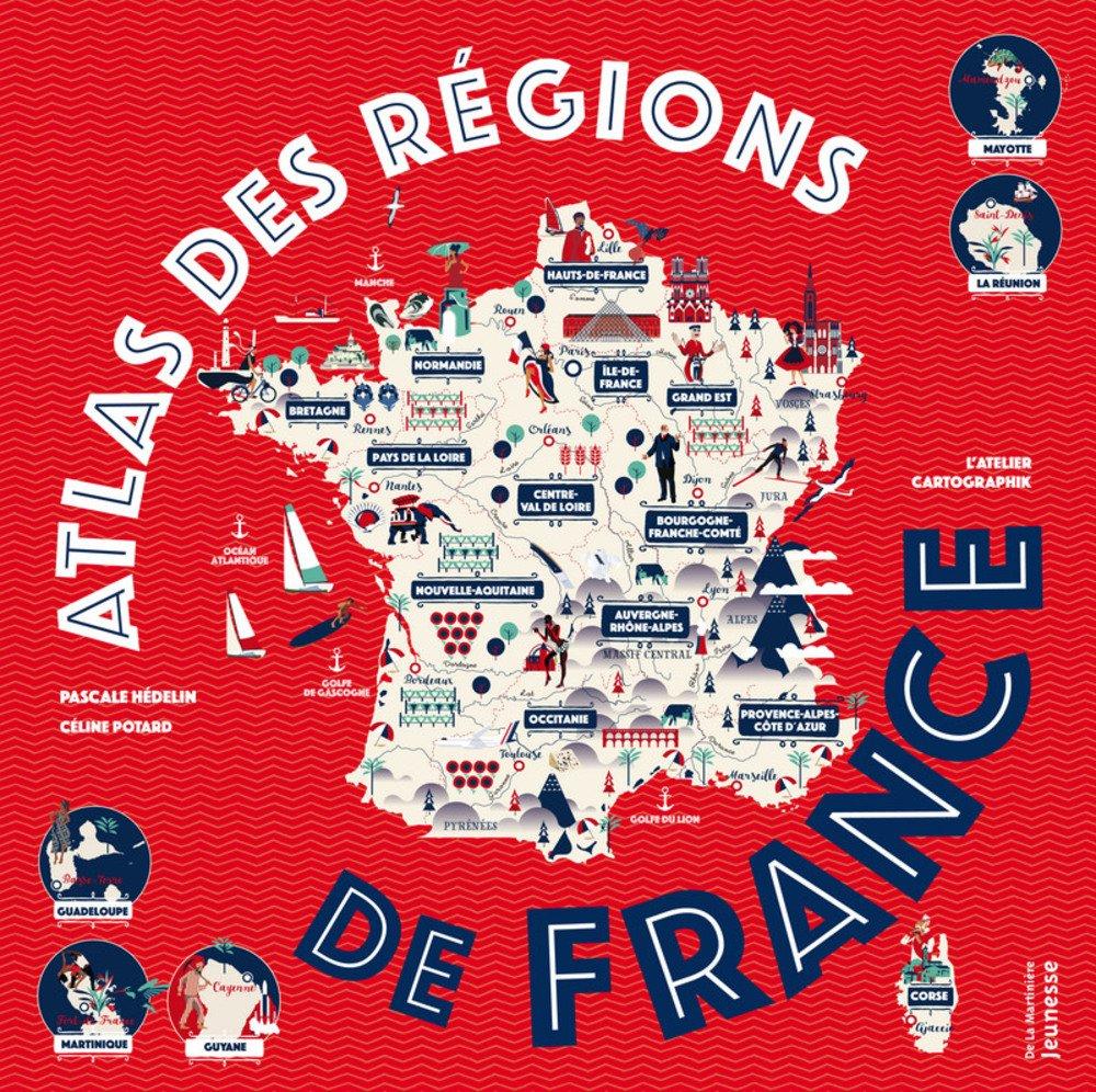 Atlas des régions de France Lesenfantsalapage