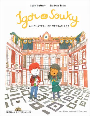 Igor-et-Souky-au-château-de-Versailles Lesenfantsalapage
