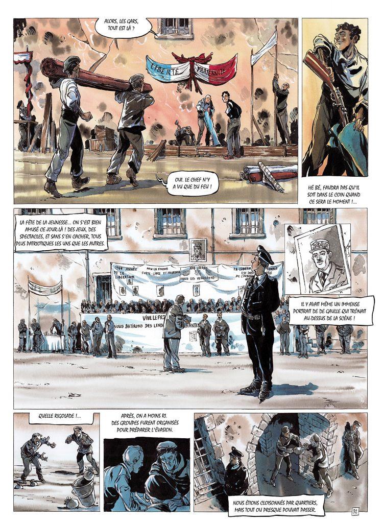 MA GUERRE, DE LA ROCHELLE À DACHAU illustration