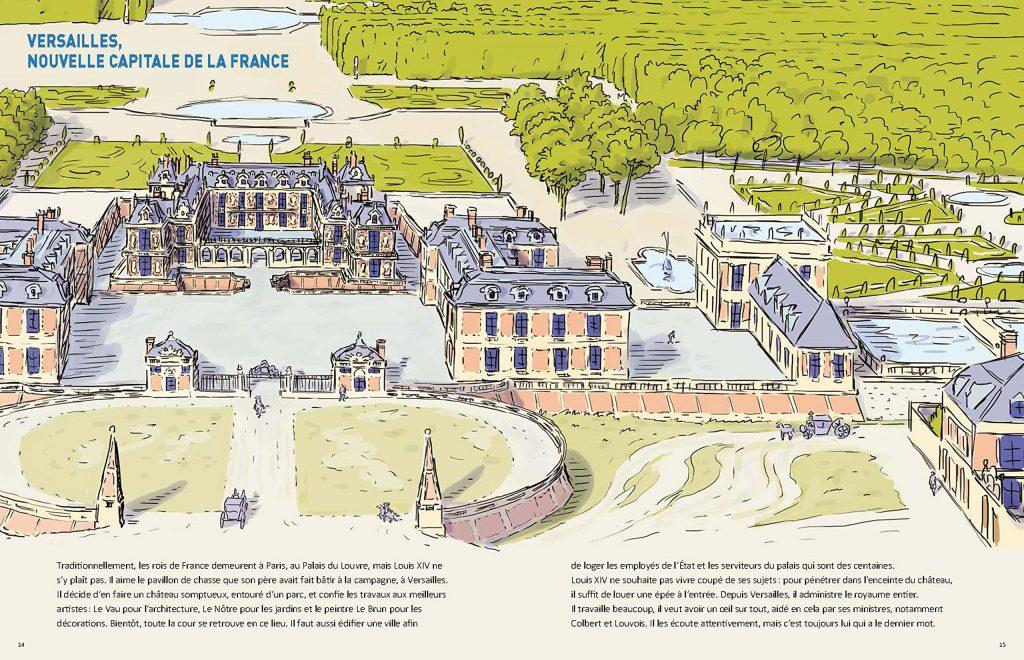 Versailles capitale de la France