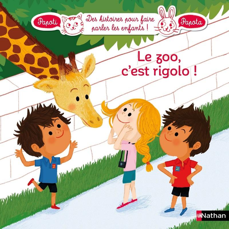 Le zoo, c'est rigolo ! Lesenfantsalapage