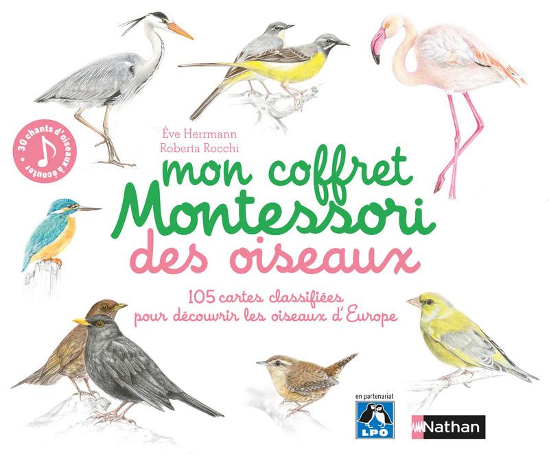 Mon Coffret Montessori des Oiseaux Lesenfantsalapage