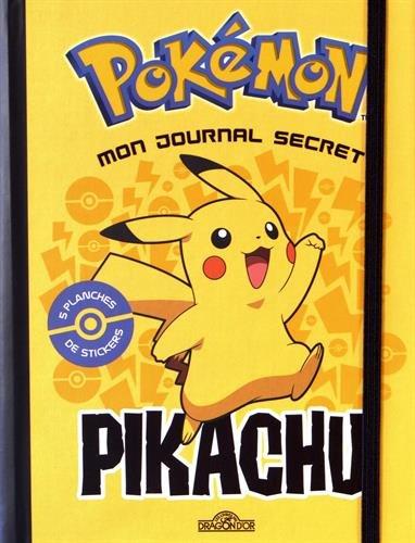 Mon journal secret Pikachu Lesenfantsalapage