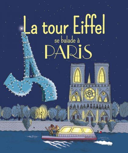 La Tour Eiffel se balade à Paris Lesenfantsalapage