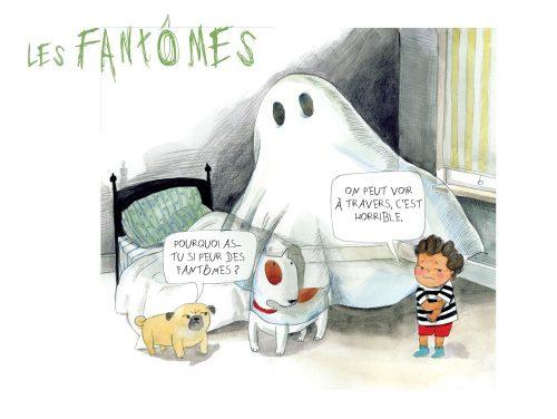 Ma liste rigolote qui donne les chocottes fantomes