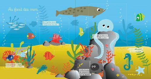 Mon premier dis pourquoi - la mer illustration