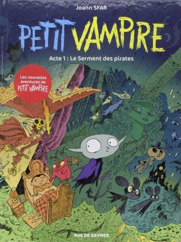 Petit Vampire, Tome 1 Le serment des pirates