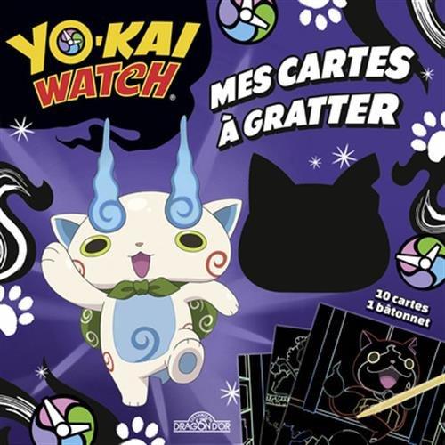Yo-kai Watch - Mes cartes à gratter - Komasan