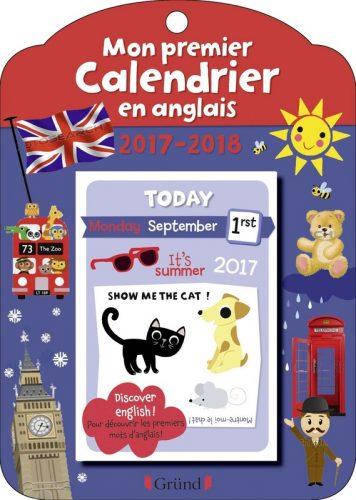 Mon premier calendrier en anglais