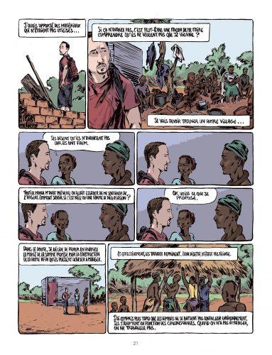 Kilum - Rencontre avec les Himbas illustration