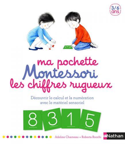 Ma pochette Montessori - Les chiffres rugueux
