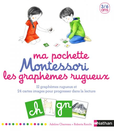 Ma pochette Montessori des graphèmes rugueux