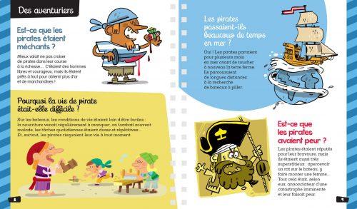 Dis pourquoi spécial pirates aventuriers