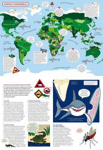 animaux dangereux Atlas pour aventuriers