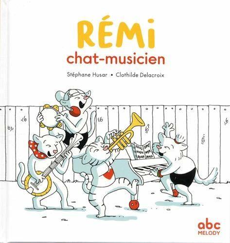 Rémi chat-musicien