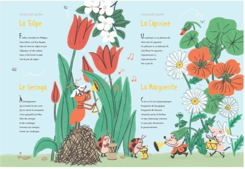 Chantefables et Chantefleurs-tulipe