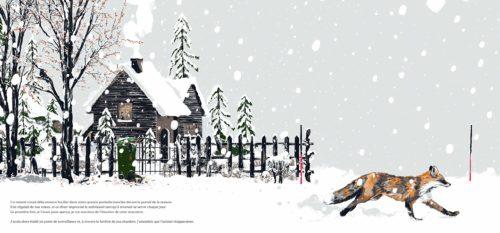 Blanc - Une histoire dans la montagne-illustration