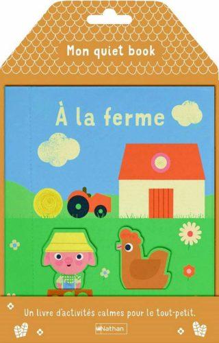 Mon quiet book - À la ferme - Lesenfantsalapage