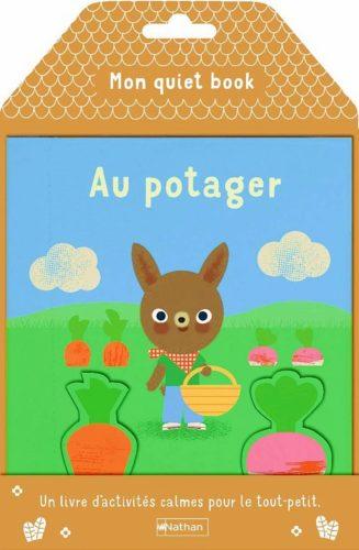 Mon quiet book - Au potager - Lesenfantsalapage