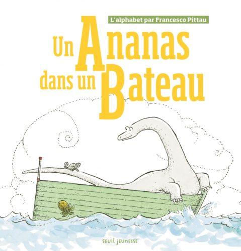 Un ananas dans un bateau