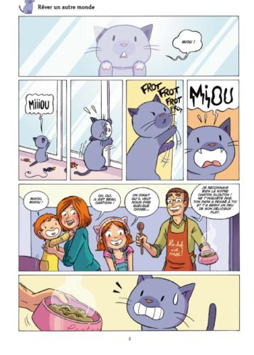 Cartoon - Entre chats