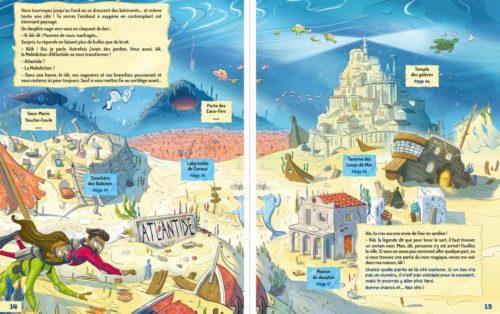 L'Atlantide aux 100 pièges-illustration