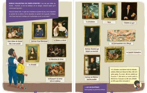 Je mène l'enquête au Louvre-illustration