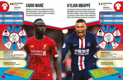 Stars du football-Mane-Mbappe