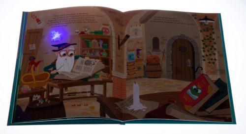 Histoires merveilleuses à lire caché sous la couette-illustration