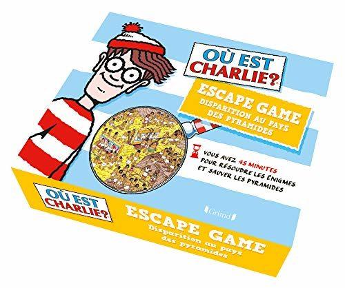 Ou est Charlie - Escape box - Disparition au pays des pyramides